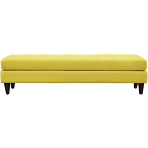 Modway Furniture Modern Upholstered Fabric Empress Bench , Benches - Modway Furniture, Minimal & Modern - 23