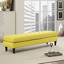 Modway Furniture Modern Upholstered Fabric Empress Bench , Benches - Modway Furniture, Minimal & Modern - 24