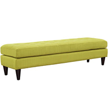 Modway Furniture Modern Upholstered Fabric Empress Bench Wheatgrass, Benches - Modway Furniture, Minimal & Modern - 25