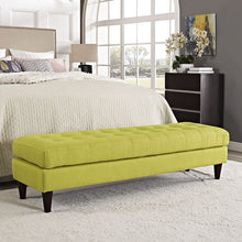 Modway Furniture Modern Upholstered Fabric Empress Bench , Benches - Modway Furniture, Minimal & Modern - 27