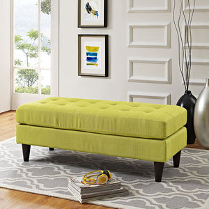 Modway Furniture Modern Upholstered Fabric Bench EEI-2138-Minimal & Modern