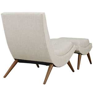 Modway Furniture Modern Ramp Fabric Lounge Chair Set EEI-2143-Minimal & Modern