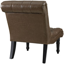 Modway Furniture Modern Navigate Lounge Chair in Brown EEI-2145-BRN-Minimal & Modern