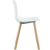 Modway Furniture Sprung Modern White Dining Side Chair , Dining Chairs - Modway Furniture, Minimal & Modern - 2