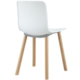 Modway Furniture Sprung Modern White Dining Side Chair , Dining Chairs - Modway Furniture, Minimal & Modern - 3