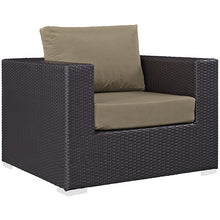 Modway Furniture Modern Convene 5 Piece Outdoor Patio Sofa Set EEI-2158-Minimal & Modern