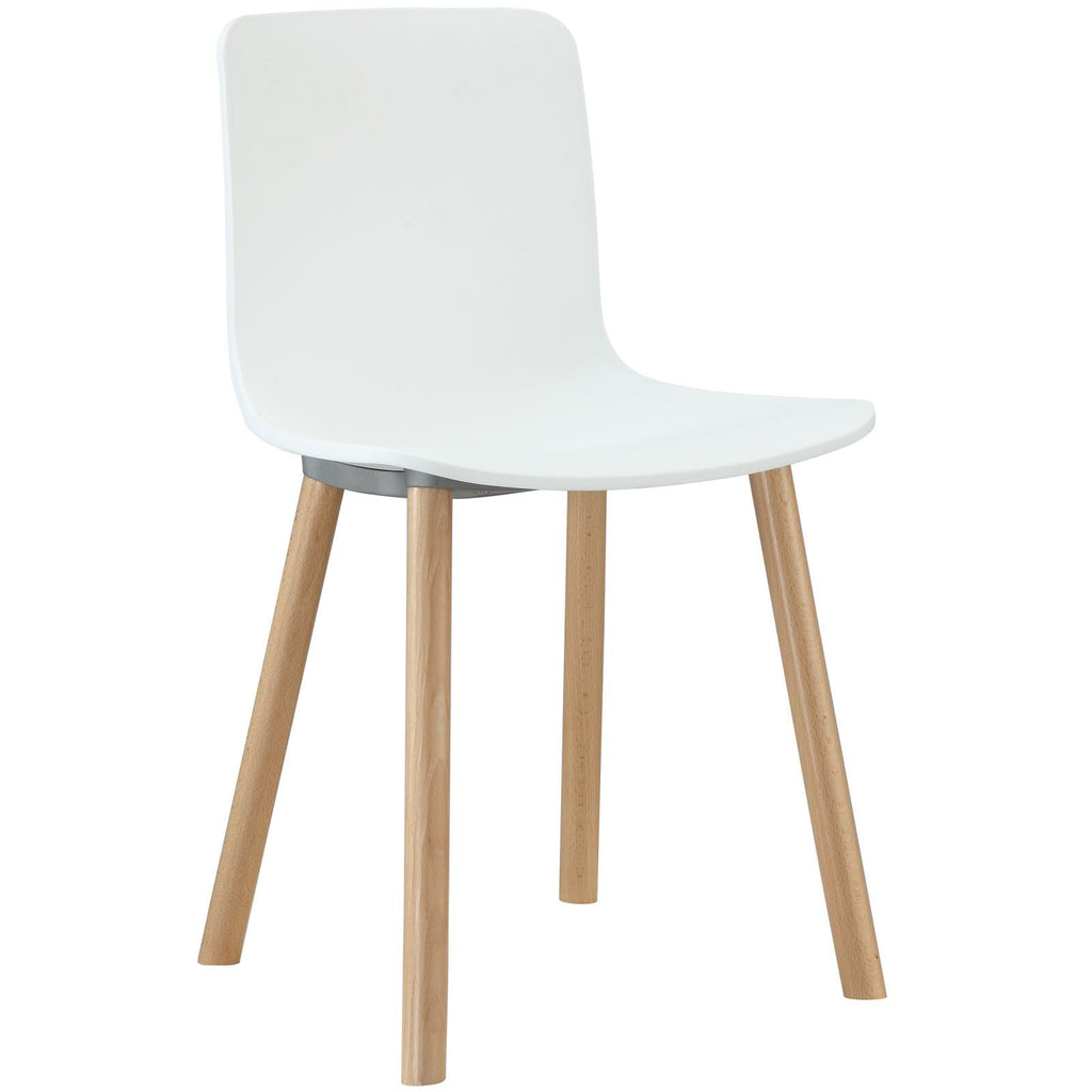 Modway Furniture Sprung Modern White Dining Side Chair , Dining Chairs - Modway Furniture, Minimal & Modern - 1
