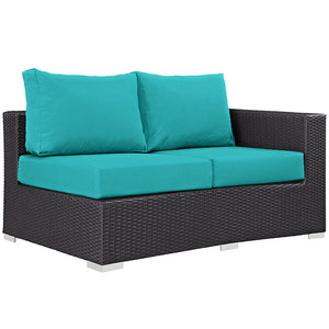 Modway Furniture Modern Convene 4 Piece Outdoor Patio Daybed EEI-2160-Minimal & Modern