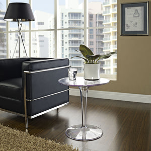 Modway Furniture Canvas Side Table EEI-217-CLR-Minimal & Modern