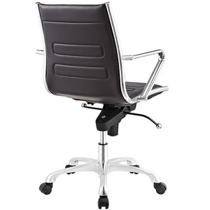 Modway Furniture Modern Ascend Mid Back Office Chair EEI-2214-Minimal & Modern