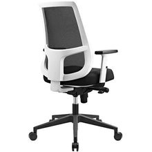 Modway Furniture Modern Pump White Frame Office Chair in Black EEI-2216-BLK-Minimal & Modern