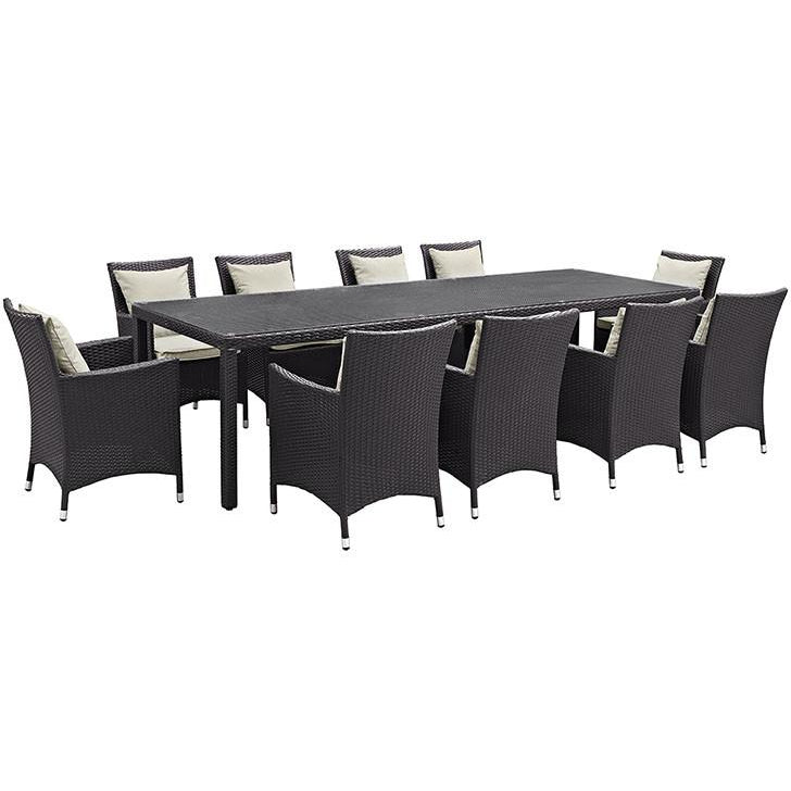 Order Furniture Online Free Shipping: BUY Modway Furniture Convene 11 Piece Outdoor Patio Dining