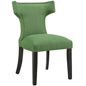 Modway Furniture Curve Fabric Dining Chair - EEI-2221-Minimal & Modern