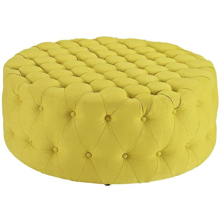 Modway Furniture Amour Fabric Ottoman - EEI-2225-Minimal & Modern