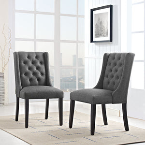 Modway Furniture Baronet Fabric Dining Chair - EEI-2235-Minimal & Modern