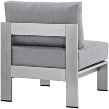 Modway Furniture Modern Shore Armless Outdoor Patio Aluminum Chair EEI-2263-Minimal & Modern
