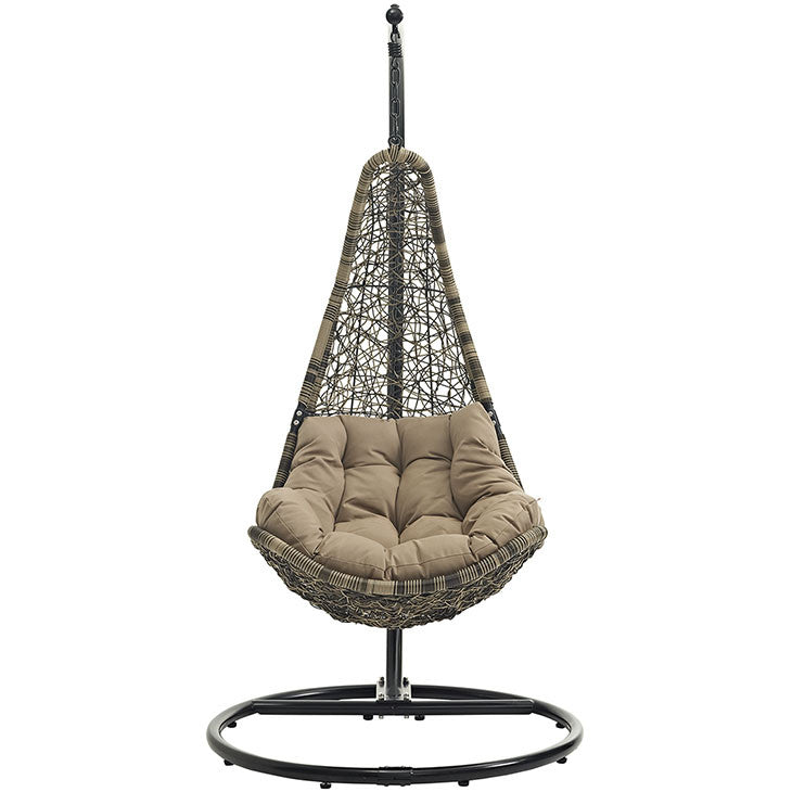 Modway Furniture Modern Abate Outdoor Patio Swing Chair