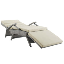 Modway Furniture Modern Envisage Chaise Outdoor Patio Wicker Rattan Lounge Chair - EEI-2301
