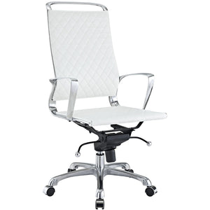 Modway Modern Vibe High Back Adjustable Computer Office Chair EEI-232-Minimal & Modern