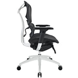 Modway Modern Lift Mid Back Adjustable Computer Office Chair - Minimal & Modern - 2