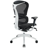 Modway Modern Lift Mid Back Adjustable Computer Office Chair - Minimal & Modern - 3