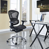 Modway Modern Lift Mid Back Adjustable Computer Office Chair - Minimal & Modern - 4