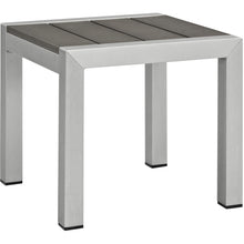 Modway Furniture Modern Shore Outdoor Patio Set Outdoor Patio Aluminum Set-Minimal & Modern