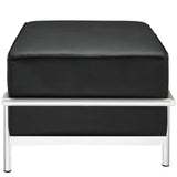 Modway Furniture Charles Grande Leather Ottoman , Ottoman - Modway Furniture, Minimal & Modern - 10