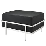 Modway Furniture Charles Grande Leather Ottoman , Ottoman - Modway Furniture, Minimal & Modern - 11