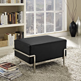 Modway Furniture Charles Grande Leather Ottoman , Ottoman - Modway Furniture, Minimal & Modern - 12
