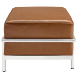Modway Furniture Charles Grande Leather Ottoman , Ottoman - Modway Furniture, Minimal & Modern - 6