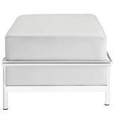 Modway Furniture Charles Grande Leather Ottoman , Ottoman - Modway Furniture, Minimal & Modern - 2