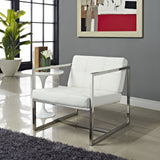 Modway Furniture Modern Hover Lounge Chair , Chairs - Modway Furniture, Minimal & Modern - 4