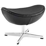 Modway Furniture Glove Leather Ottoman Black, Ottoman - Modway Furniture, Minimal & Modern - 17