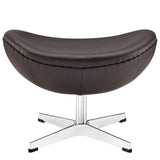 Modway Furniture Glove Leather Ottoman , Ottoman - Modway Furniture, Minimal & Modern - 15