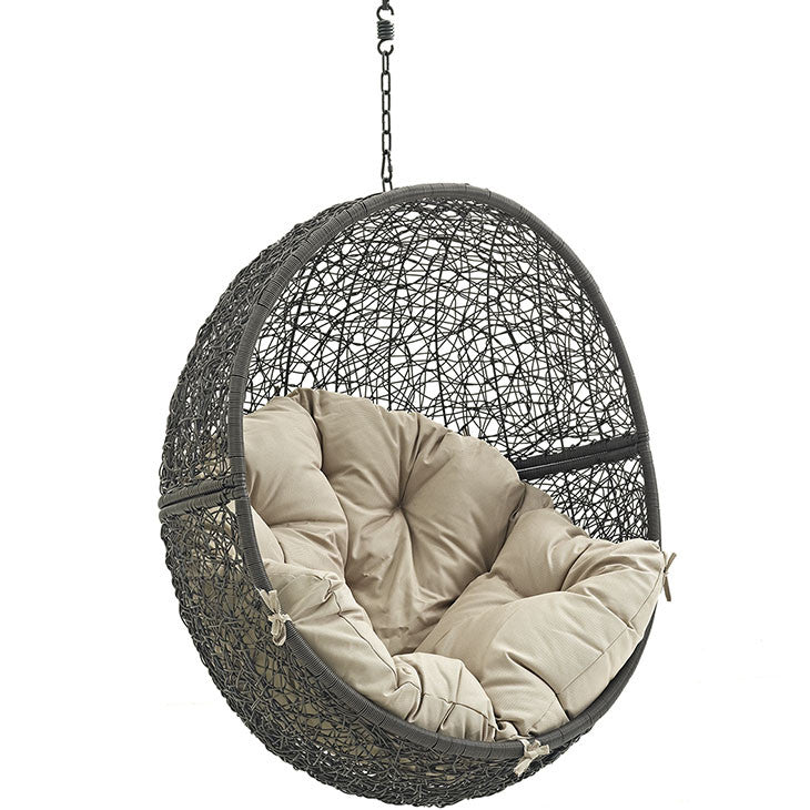 Modway Furniture Hide Outdoor Patio Swing Chair Without ...