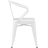 Modway Furniture Promenade Modern Dining Armchair , Dining Chairs - Modway Furniture, Minimal & Modern - 6