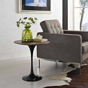"Modway Furniture Modern Lippa 20"" Wood Side Table in Black EEI-270-BLK-Minimal & Modern"