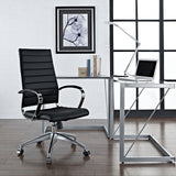 Modway Modern Jive High Back Adjustable Computer Office Chair - Minimal & Modern - 28