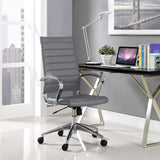 Modway Modern Jive High Back Adjustable Computer Office Chair - Minimal & Modern - 20
