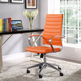 Modway Modern Jive High Back Adjustable Computer Office Chair - Minimal & Modern - 16