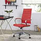 Modway Modern Jive High Back Adjustable Computer Office Chair - Minimal & Modern - 12