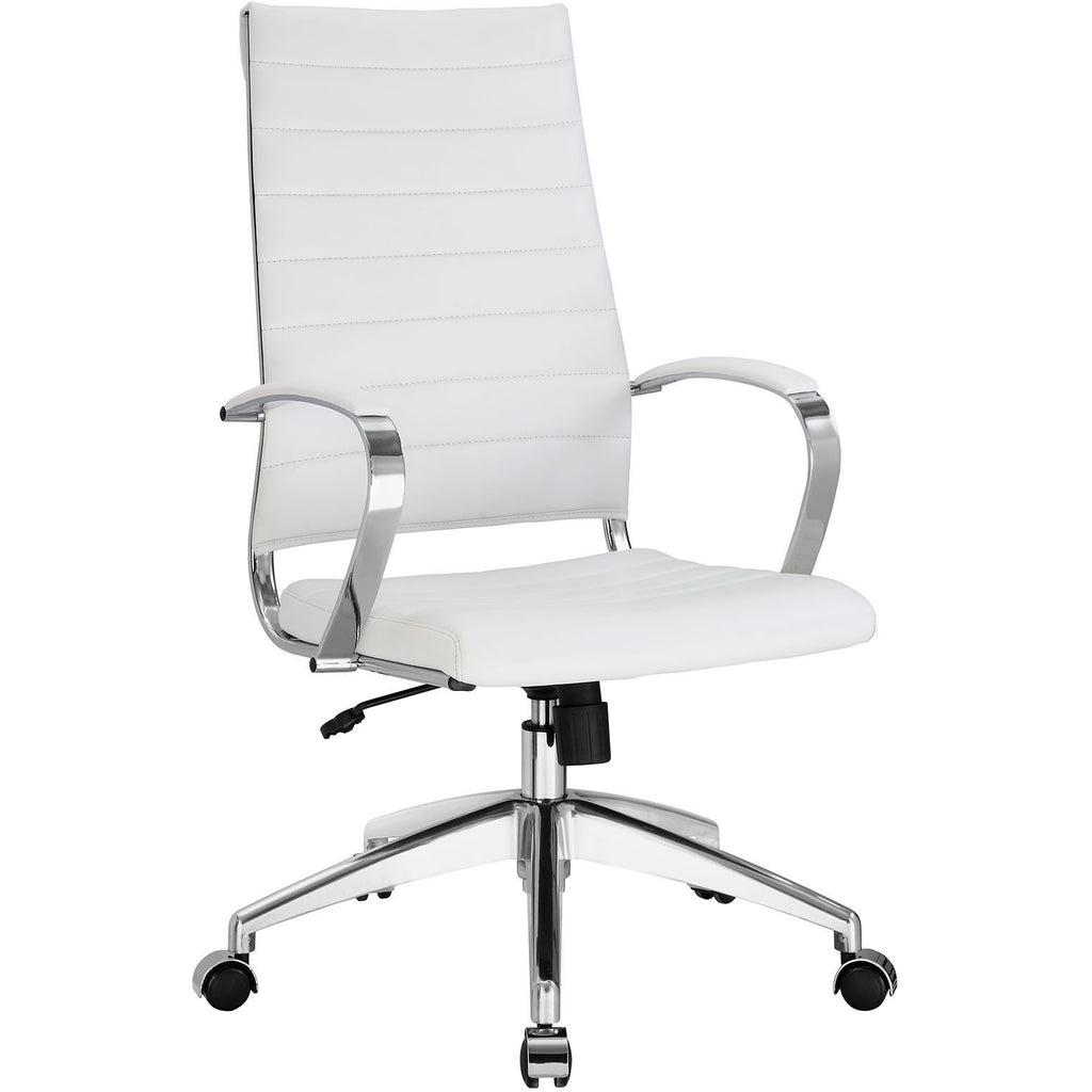 Modway Modern Jive High Back Adjustable Computer Office Chair - Minimal & Modern - 1