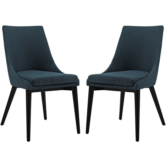 Modway Furniture Modern Viscount Dining Side Chair Fabric Set of 2 - EEI-2745-Minimal & Modern
