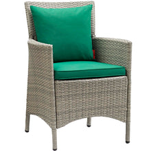 Modway Furniture Modern Conduit Outdoor Patio Wicker Rattan Dining Armchair - EEI-2802