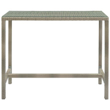Modway Furniture Modern Conduit Outdoor Patio Wicker Rattan Large Bar Table - EEI-2804