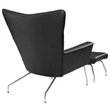 Modway Furniture Modern Class Leather Lounge Chair , Chairs - Modway Furniture, Minimal & Modern - 3