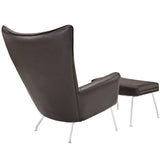 Modway Furniture Modern Class Leather Lounge Chair , Chairs - Modway Furniture, Minimal & Modern - 21