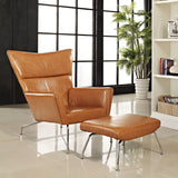 Modway Furniture Modern Class Leather Lounge Chair , Chairs - Modway Furniture, Minimal & Modern - 18