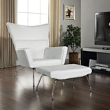 Modway Furniture Modern Class Leather Lounge Chair , Chairs - Modway Furniture, Minimal & Modern - 12